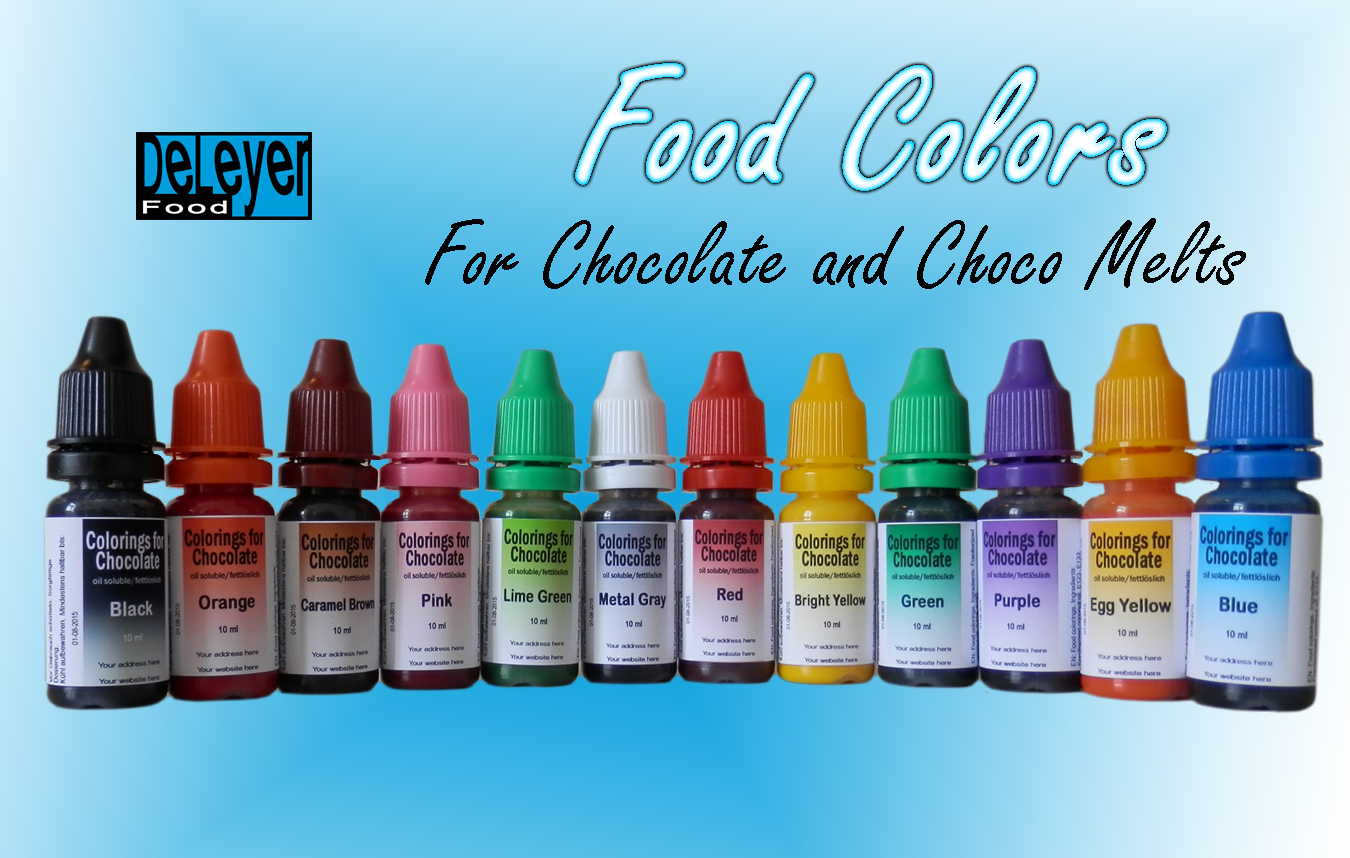 Colorings for Chocolate and Candy Melts